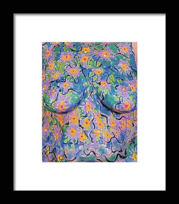 Hadassah Greater Atlanta Framed Print featuring the photograph 8. Joyce English, Artist, 2017 by Best Strokes - formerly Breast Strokes - Hadassah Greater Atlanta