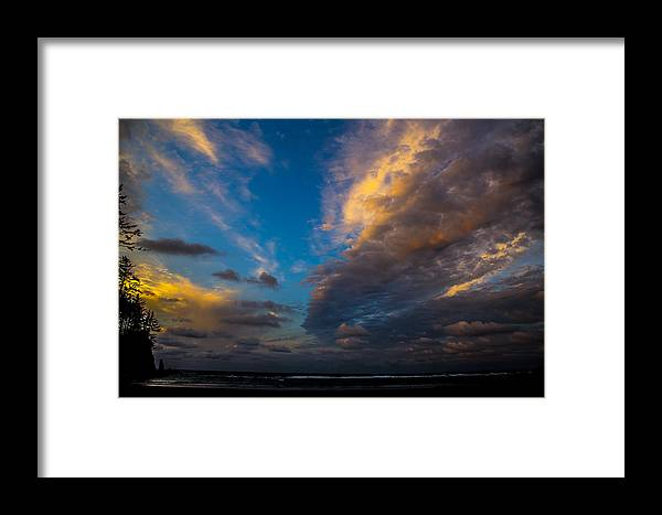 Framed Print featuring the photograph My Private Beach by Angus Hooper Iii