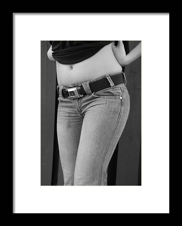 Body Framed Print featuring the photograph The G M Belt by Rob Hans