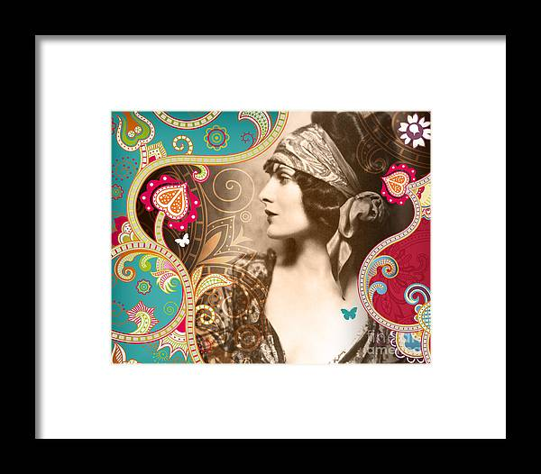 Nostalgic Seduction Framed Print featuring the photograph Goddess by Chris Andruskiewicz