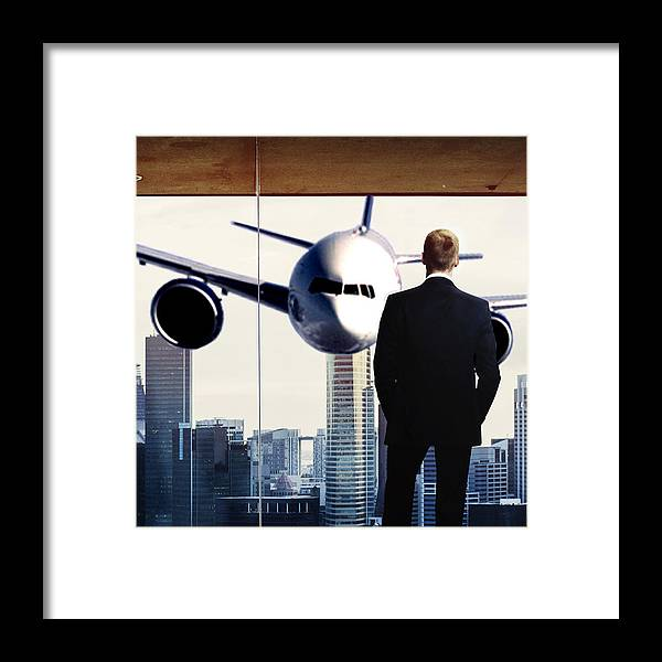 9/11 Framed Print featuring the digital art 9/11 by Barney Hudswell