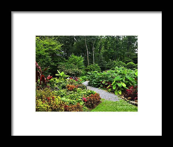 Walter Paul Bebirian Framed Print featuring the digital art 9-2-2018a by Walter Paul Bebirian
