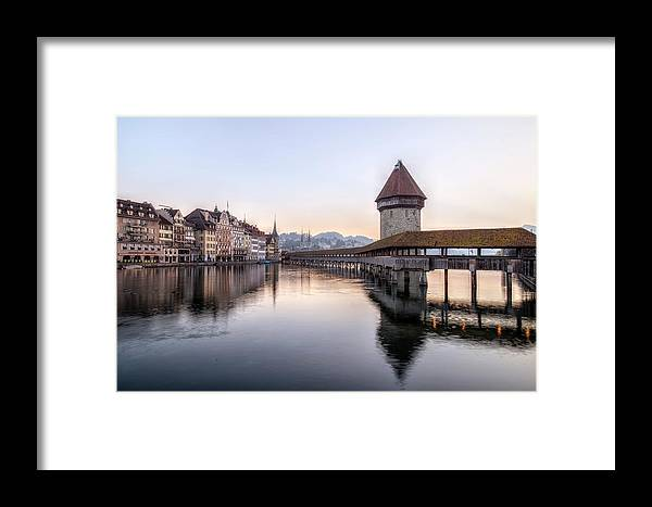 Lucerne Framed Print featuring the photograph Lucerne - Switzerland by Joana Kruse