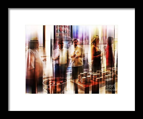 People Framed Print featuring the photograph Msc by Caddelle Faulkner