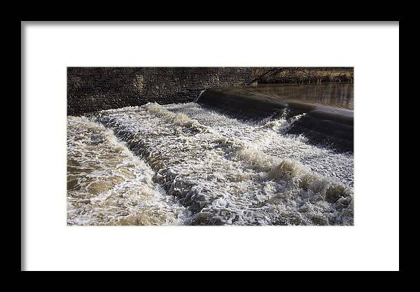 Water Framed Print featuring the photograph 91. The Greater Cleveland Time Lapse Project by Ryan Brady-Toomey