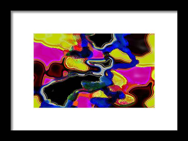 Jgyoungmd Framed Print featuring the digital art 91715b by Jgyoungmd Aka John G Young MD