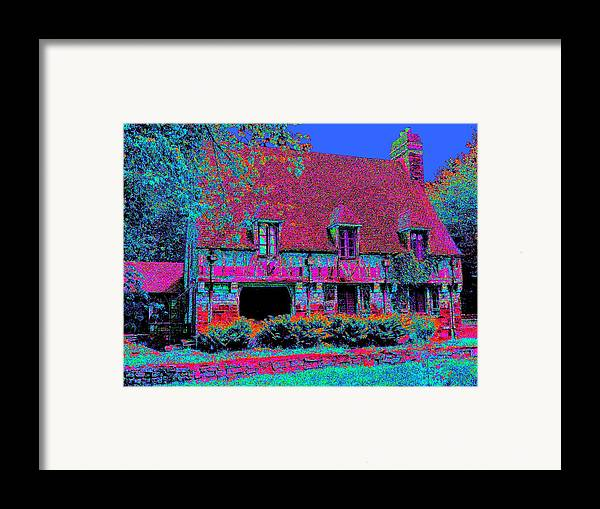 Cottage Framed Print featuring the painting 91f Dream Cottage by Ed Immar