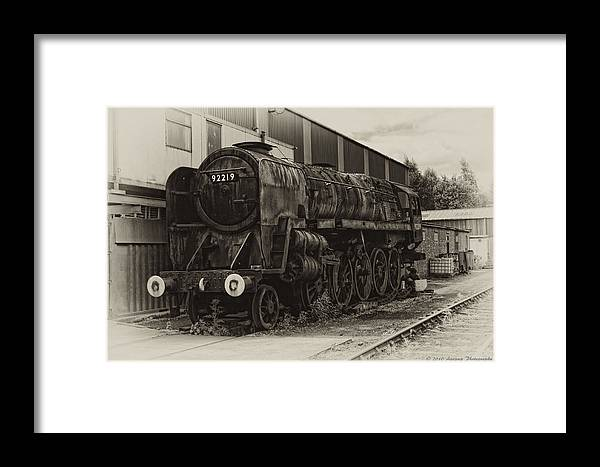 92219 Framed Print featuring the photograph 92219 by David J Knight