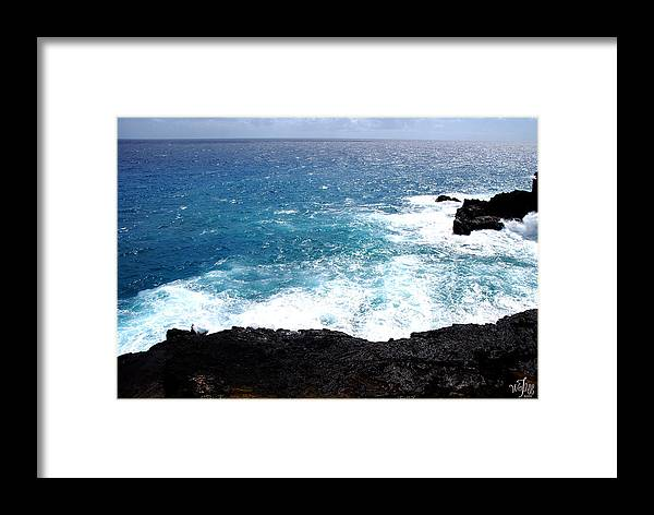 Seascape Framed Print featuring the photograph Hawaii by Thea Wolff