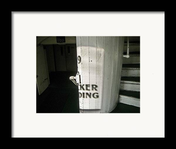 99 Entrance Framed Print featuring the photograph 99 The Picker Building by Nancy Ferrier