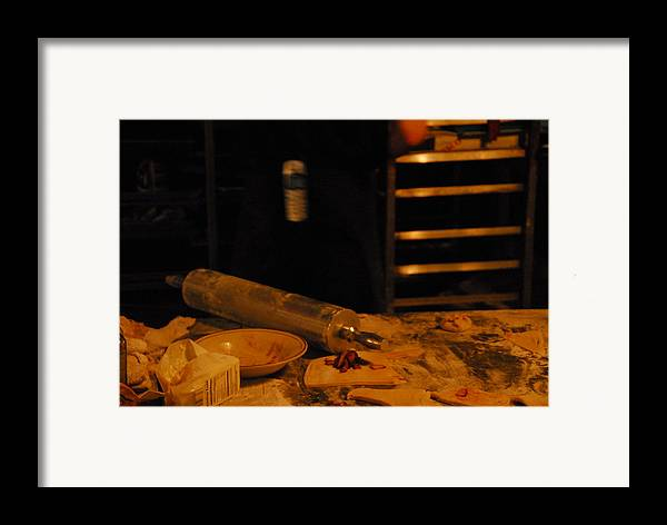 Kitchen Framed Print featuring the photograph A Baker by Steven Crown