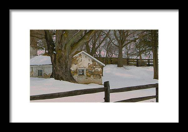 Brandywine Framed Print featuring the photograph A Brandywine Winter by Gordon Beck
