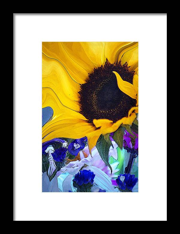 Flowers Framed Print featuring the photograph A Childs Mind... by Arthur Miller