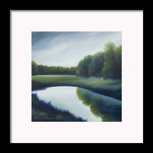 Clouds Framed Print featuring the painting A Day In The Life 2 by James Christopher Hill