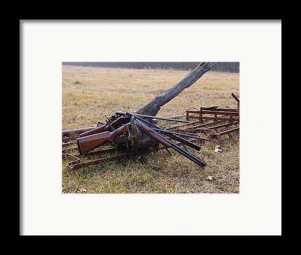 Hunting Framed Print featuring the photograph A Day Remembered by Kevin Callahan