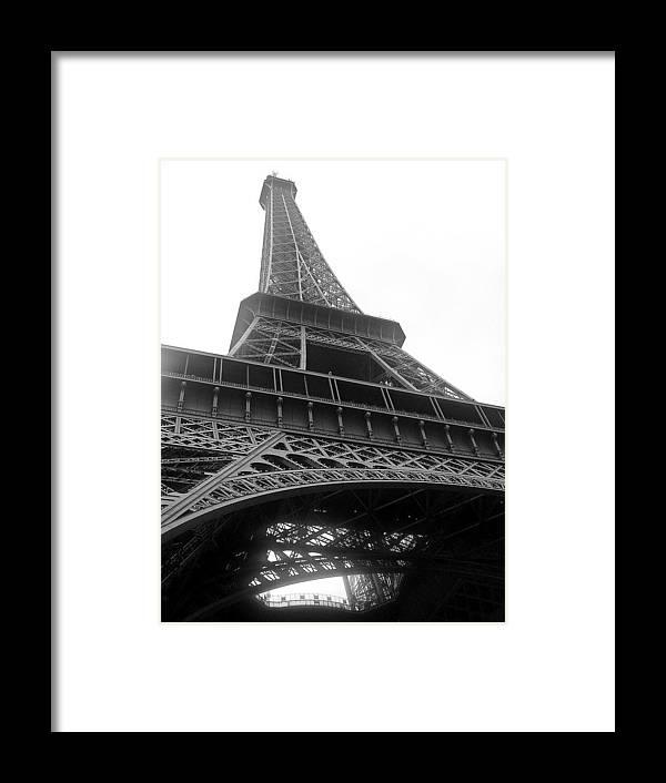 Eifel Framed Print featuring the photograph A French Landmark by Shelby Eagleburger
