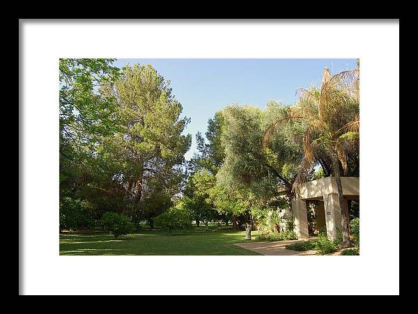 Phoenix Framed Print featuring the photograph A Home In Phoenix by Susan Heller