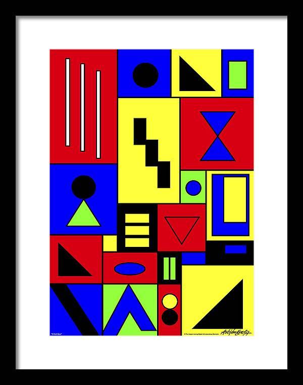 Native Art Framed Print featuring the digital art A Hurt Soul by Asbjorn Lonvig