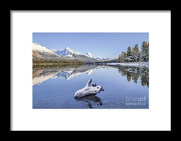 Kremsdorf Framed Print featuring the photograph A Kiss Of Winter by Evelina Kremsdorf