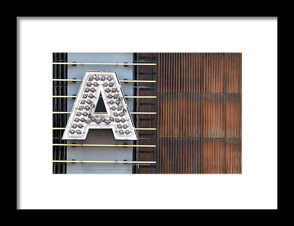 Abstract Framed Print featuring the photograph A Letter by Dan Holm