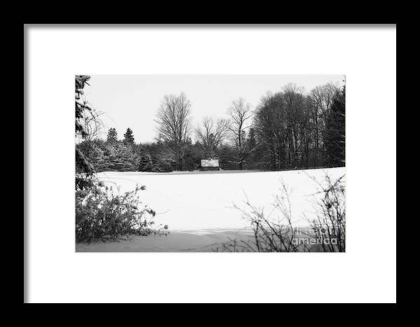 Cabin Framed Print featuring the photograph A Little Cabin In The Woods by Cathy Beharriell