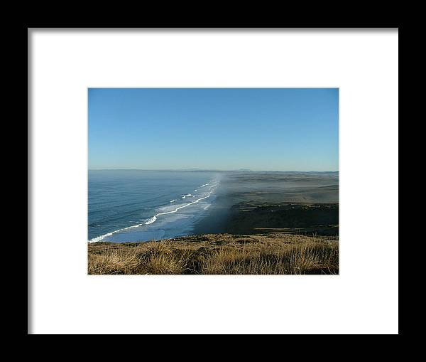 Sea Scapes Framed Print featuring the photograph A Little Slice Of Heaven by Donna Thomas