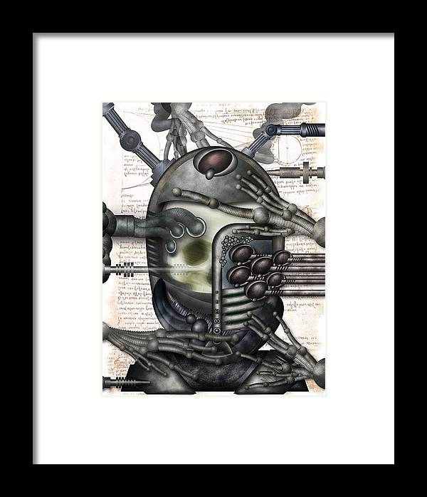 Sf Framed Print featuring the digital art A Long Way Home by Brut carniollus