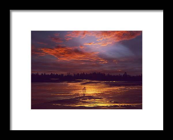 Reflection Framed Print featuring the photograph A Moment Of Reflection by Lori Seaman