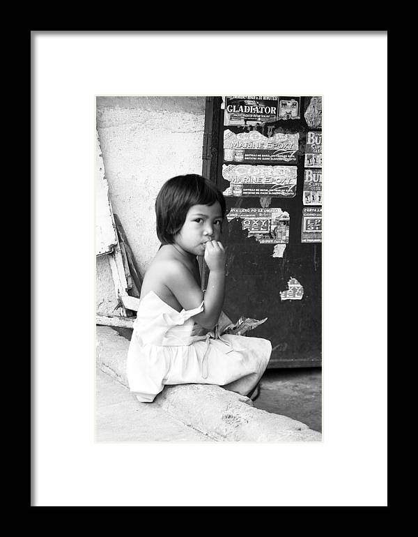 Photographer Framed Print featuring the photograph A Moment To Chew by Jez C Self