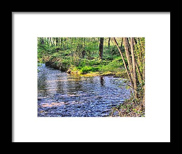 Harrison Framed Print featuring the photograph A Moment To Myself by Kathy Tarochione