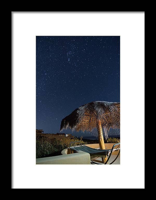 #mexico #travel #baja #nightphotography #lightpainting #starscape #stars Framed Print featuring the photograph A New Baja Sky by Adam C Johnson