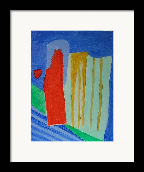 Spiritual Framed Print featuring the painting A New Beginning by Harris Gulko
