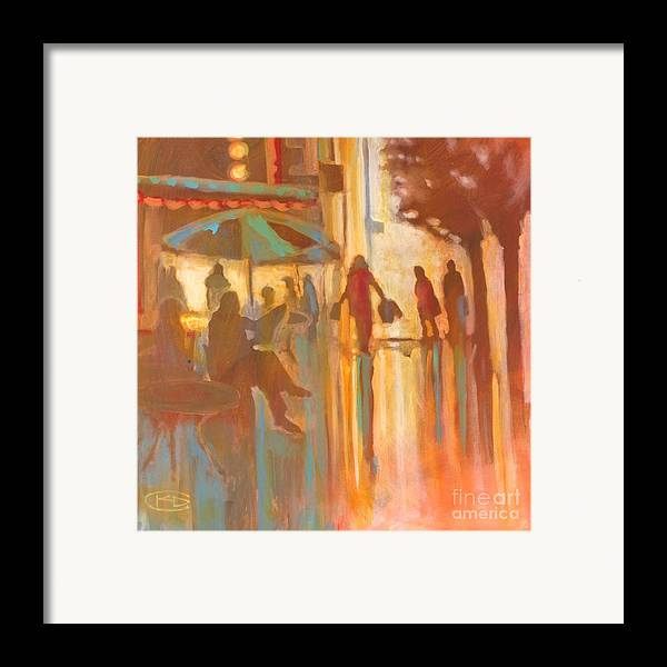Shopping Framed Print featuring the painting A New Dress by Kip Decker