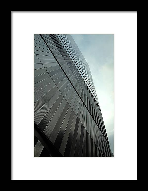 Seven World Trade Framed Print featuring the photograph A New Perspective by Mandy Wiltse