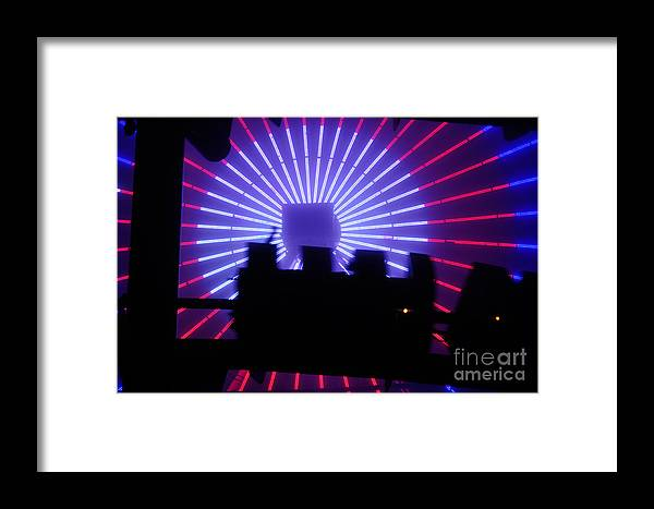 Clay Framed Print featuring the photograph A Night At Santa Monica Pier by Clayton Bruster