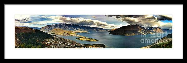 New Zealand Framed Print featuring the photograph A Peaceful View by Alisha Robertson