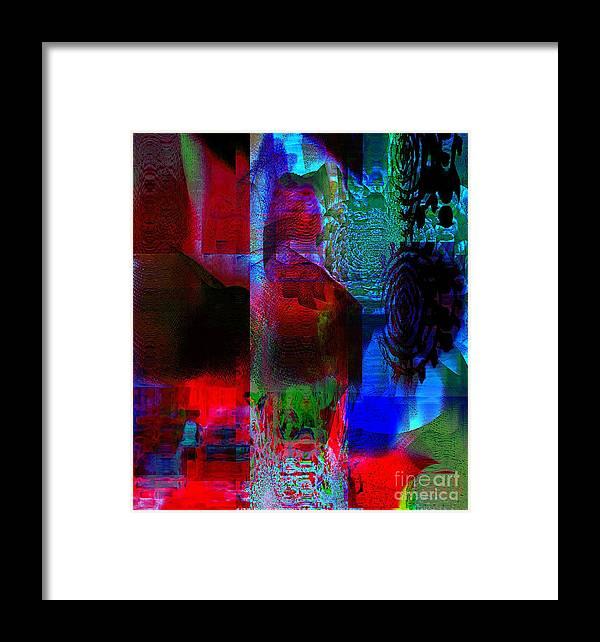 Fania Simon Framed Print featuring the mixed media A Representation Of Nothing by Fania Simon