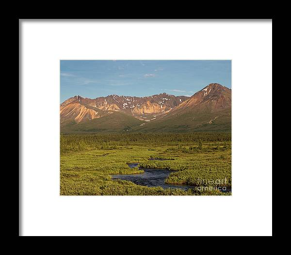 Alaska Framed Print featuring the photograph A River Runs Through It by Ursula Lawrence