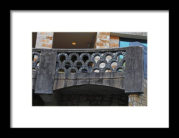 Balcony Framed Print featuring the photograph A San Antonio State Of Mind by Michiale Schneider