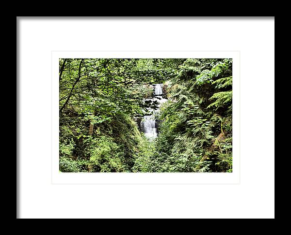Waterfall Framed Print featuring the photograph A Secret Place by J D Banks
