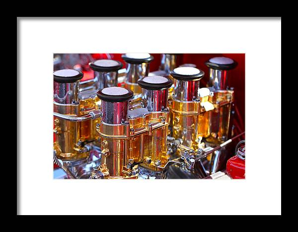Carb Framed Print featuring the photograph A Stacked Deck by Brent Kelly