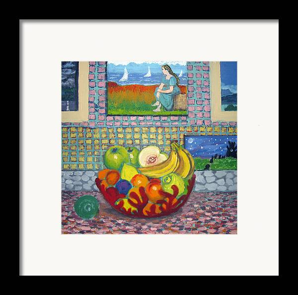 Still Life Framed Print featuring the painting A Still Life by Susan Stewart
