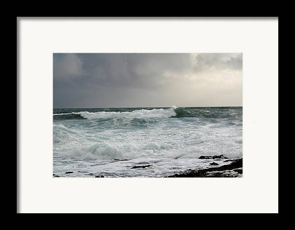 Ireland Framed Print featuring the photograph A Stormy Day In Doolin by Beverlee Singer
