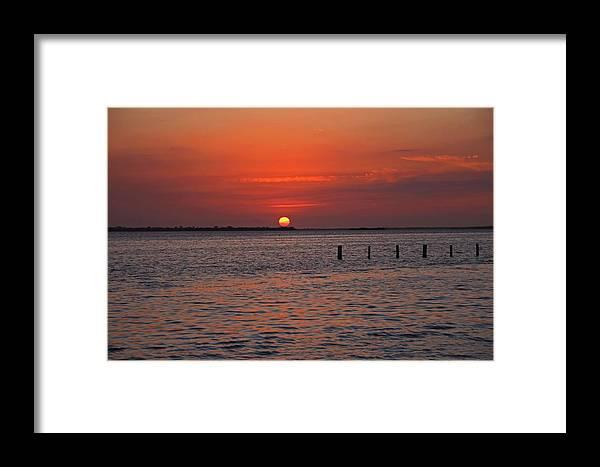 Sunset Framed Print featuring the photograph A Summer Of Sleepless Joy by Michiale Schneider