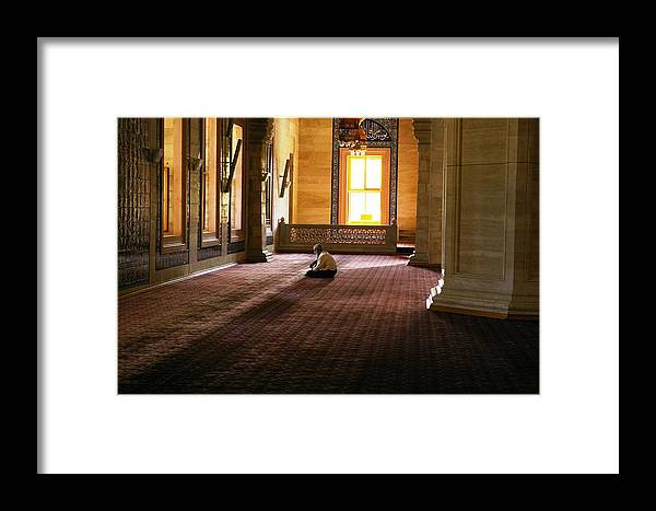 Turkey Framed Print featuring the photograph A Time For Prayer by Don Prioleau