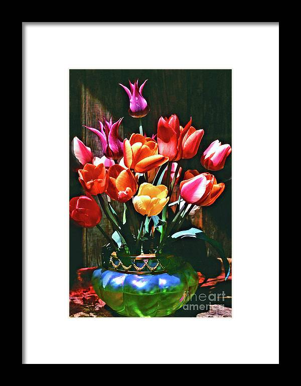 Tulip Framed Print featuring the photograph A Time For Tulips by Michael Durst