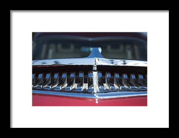 Auto Framed Print featuring the photograph A Toothy Grin by Richard Henne