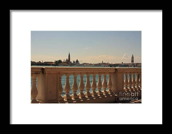 Venice Framed Print featuring the photograph A View Of Venice by Michael Henderson