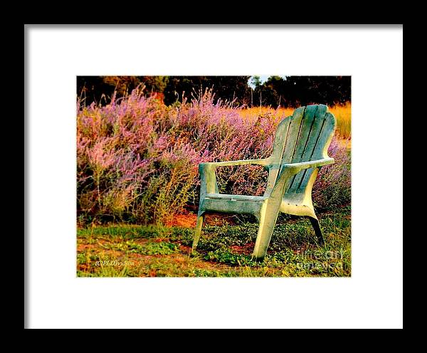 Heather Framed Print featuring the photograph A Visit With Heather by Patricia L Davidson