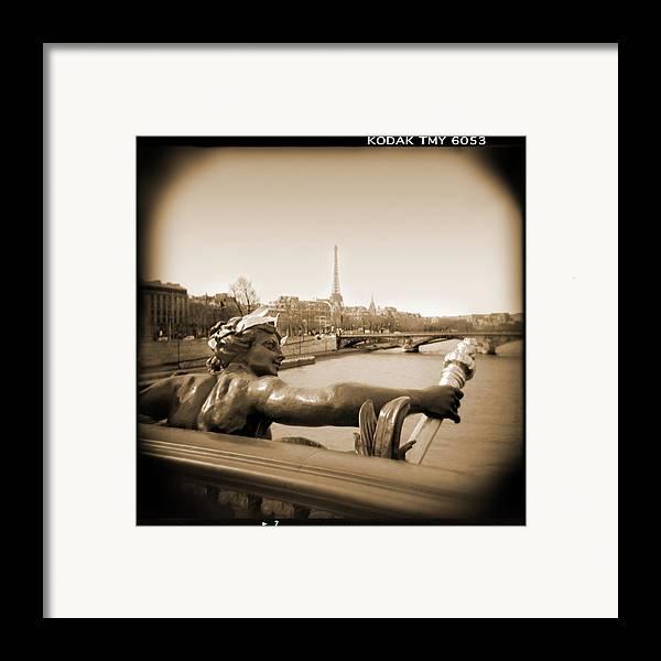 Paris Framed Print featuring the photograph A Walk Through Paris 7 by Mike McGlothlen